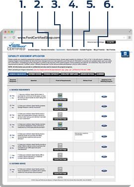 Assured Performance Certification Steps